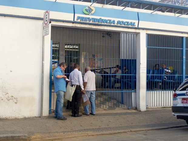 Servidores do INSS entram em greve na região de Campinas (Foto: Priscilla Geremias/ G1)