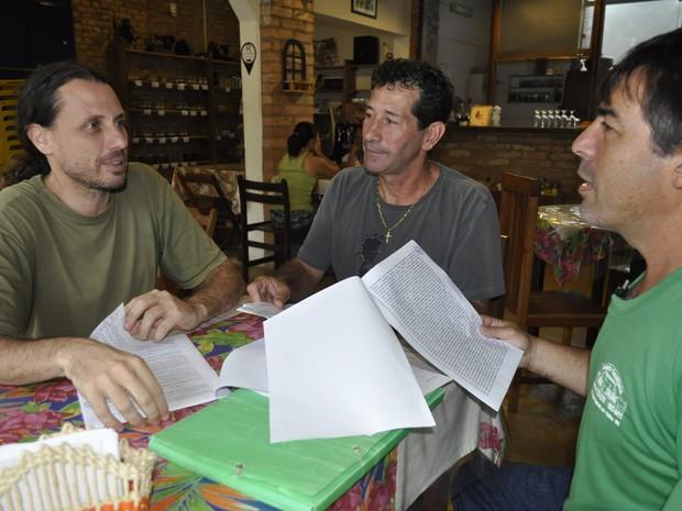 Segundo diretoria, oficialização de aliança defensora da APA engloba 13 associações em MG (Foto: Lúcia Ribeiro/G1)