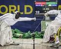 Fora do pódio, seleção brasileira fecha participação no Mundial de esgrima