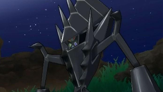 Necrozma, pokémon lendário que é confundido com as Ultra Beasts (Foto: Reprodução/Youtube)