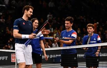 Agora número 1, Murray busca a cereja do bolo na decisão do Masters de Paris