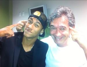 Neymar e Serginho Groisman (Foto: Divulgação / Instagram)