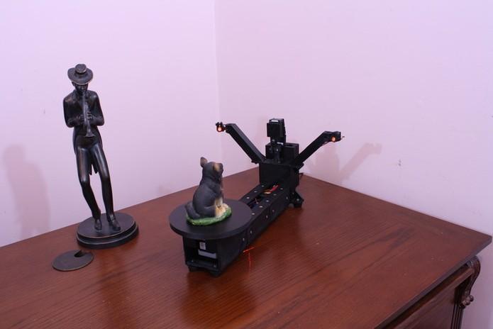 Atlas 3D é um scanner de precisão para projetos em impressão 3D (Foto: Divulgação/ Murobo LLC)
