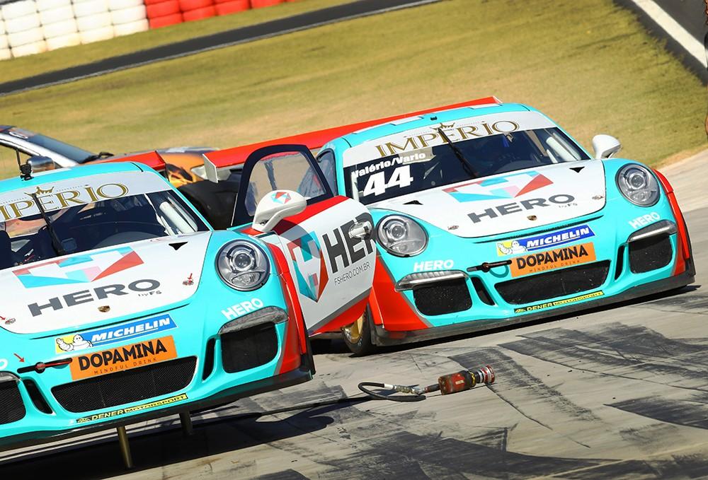 Beto Valério e Vario Endurance Porsche Imperio GT3 Cup (Foto: Divulgação/Luca Bassani/Porsche Império GT3)