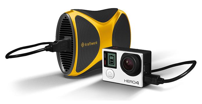 Aparelho pode carregar GoPro, iPhone e muito mais (Foto: Divulgação)