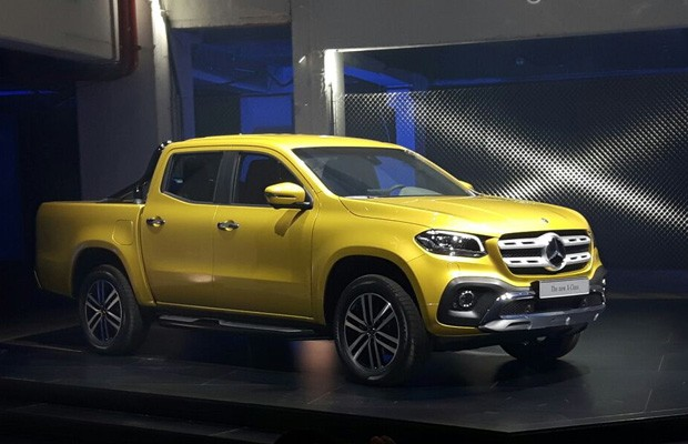Mercedes-Benz revela pick-up Classe X