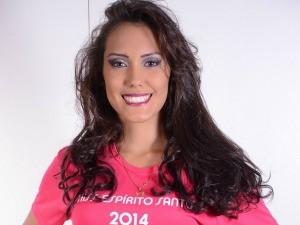 Kezia Ferreira, finalista do Miss ES 2014 (Foto: Wanderson Lopes/Divulgação)