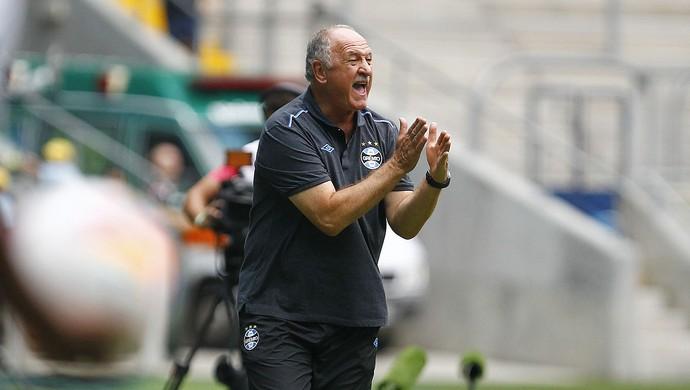 Felipão no jogo contra o Veranópolis (Foto: Lucas Uebel/Grêmio, Divulgação)