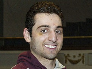 Tamerlan Tsarnaev, de 26 anos, suspeito dos atentados na Maratona de Boston (Foto: Julia Malakie/The Lowell Sun/AP)