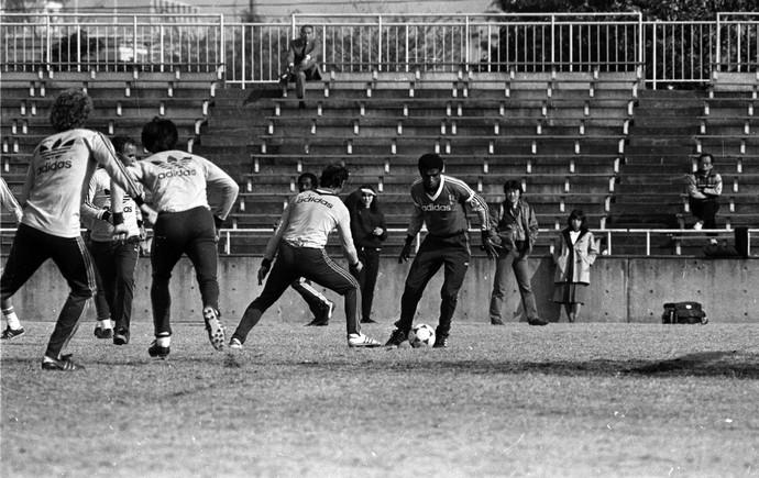 grêmio treino 1983 japão tóquio tarciso mundial (Foto: Luiz Ávila/Agência RBS)