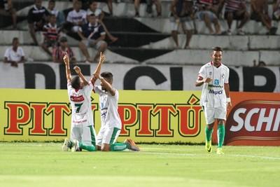 Santa Cruz x Salgueiro (Foto: Marlon Costa / Pernambuco Press)