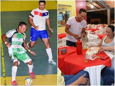 Futsal Roraima, Kayo Fernando (Foto: Tércio Neto/Nailson Wapichana)