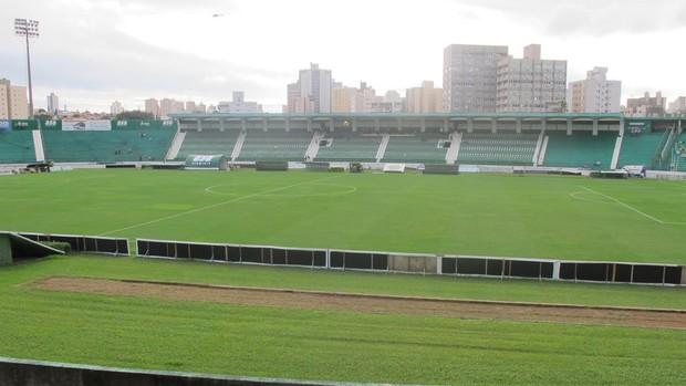 estádio Brinco de ouro da princesa guarani e palmeiras (Foto: Diego Ribeiro / Globoesporte.com)