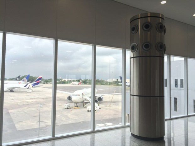 Aeroporto Antonio Carlos Jobim inaugura novo espaço (Foto: Matheus Rodrigues/G1 Rio)