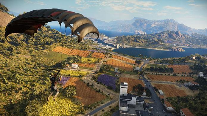 Ambientes bonitos são um dos destaques de Just Cause 3 (Foto: Divulgação/Square Enix)