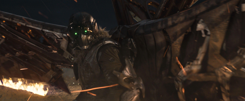 Abutre, o vilão de Homem-Aranha: De Volta ao Lar (Foto: Divulgação)