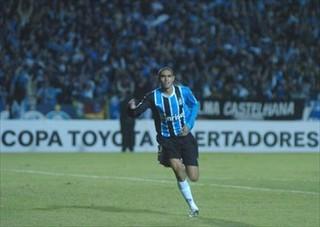 Ramon, Grêmio x Defensor, Libertadores 2007 (Foto: Divulgação / Grêmio)