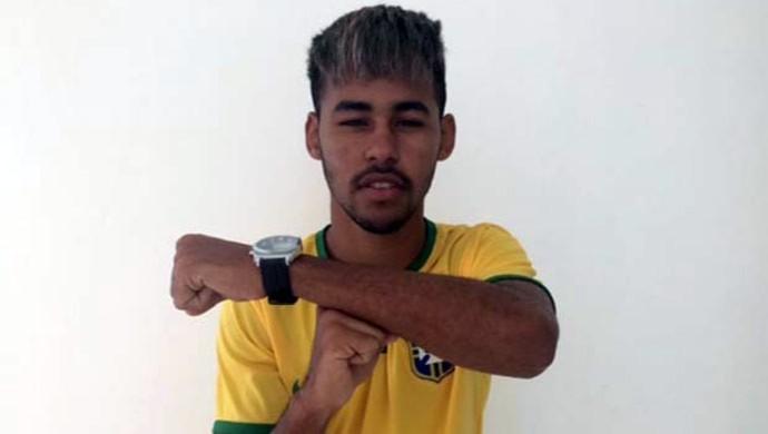 Sósia Neymar concurso G1 (Foto: Fernanda Zauli/G1)