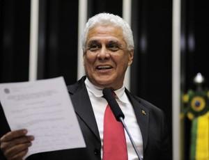 Roberto Dinamite em homenagem na Câmara dos Deputados (Foto: Agência Câmara)