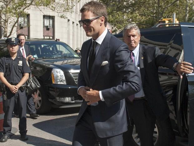 Tom Brady em Nova York, nos Estados Unidos (Foto: Darren Ornitz/ Reuters)