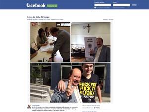Em página oficial do Facebook, Levy Fidelix publicou fotos e informou que votou às 9h15 deste domingo em sua seção eleitoral na Zona Sul de São Paulo (Foto: Reprodução Facebook)