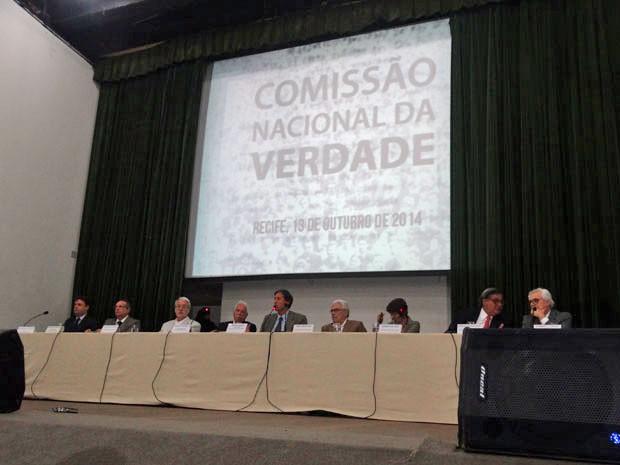 Audiência ocorreu em auditório do Centro de Convenções de Pernambuco (Foto: Luna Markman/G1)