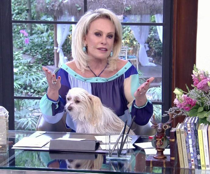 Ana Maria faz desabafo no 'Mais Você' (Foto: TV Globo)