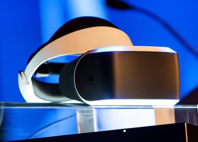 Óculos de Realidade Virtual do Project Morpheus, apresentado pela Sony em março desse ano