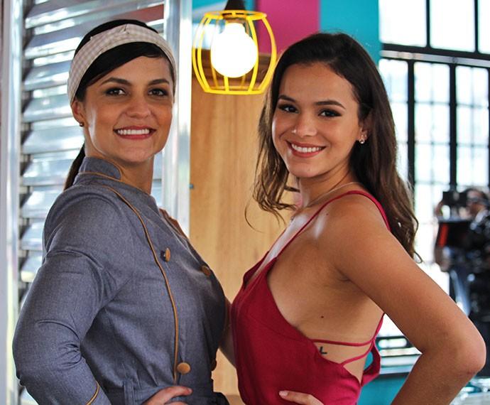 Dupla de sucesso! As sócias Olga e Mari posam felicíssimas na inauguração do Cebola Brava (Foto: Ariane Ducati/Gshow)