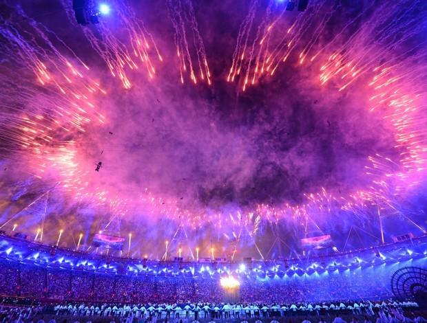 Estádio Olímpico Londres abertura (Foto: AFP)