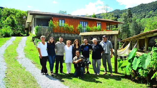 Acolhida na colônia serão um dos destaques no Globo Repórter (Foto: RBS TV/Divulgação)