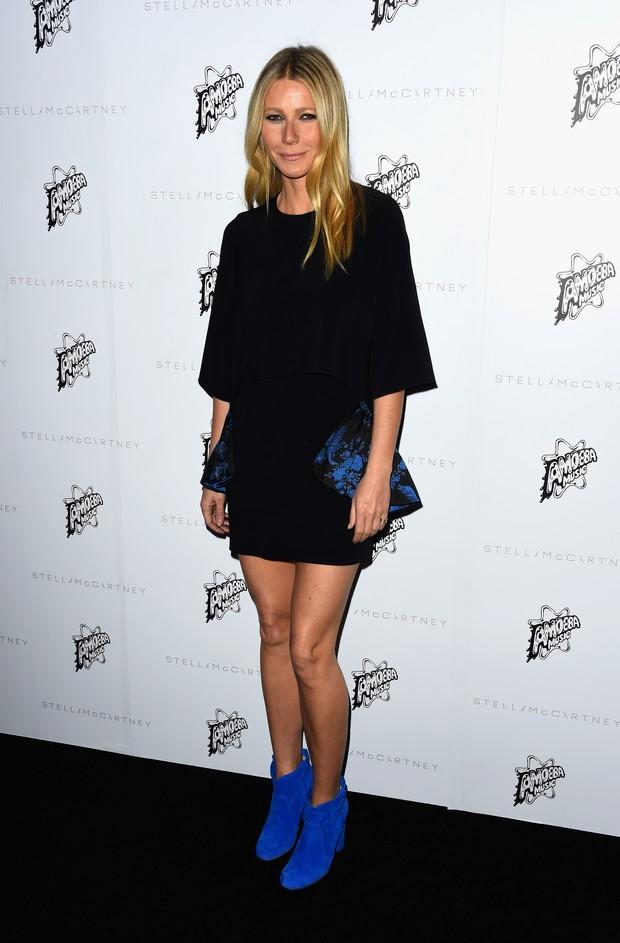 Gwyneth Paltrow em evento de moda em Los Angeles, nos Estados Unidos (Foto: Frazer Harrison/ Getty Images/ AFP)
