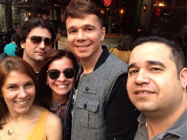 Netinho e amigos (Foto: Divulgação)