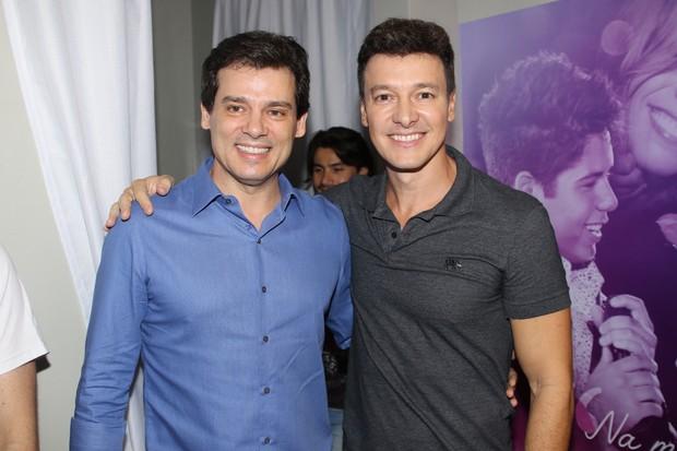 Celso Portiolli e Rodrigo Faro - DVD do cantor Zè Felipe (Foto: Thiago Duran/AgNews )
