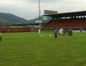 Figueirense treino Cariacica (Foto: Divulgação/ Figueirense FC)