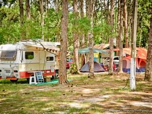 Camping abriga até 600 barracas (Foto: Campingo do Rio Vermelho/Divulgação)