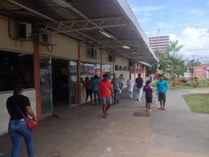 Hospital de Emergências tem atualmente 113 leitos (Foto: John Pacheco/G1)
