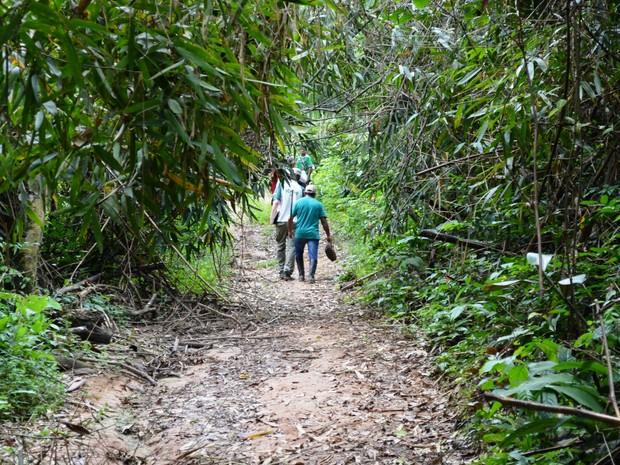 Reserva Cazumbá-Iracema (Foto: Rayssa Natani/G1)