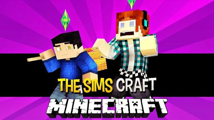 Veja como baixar e instalar o mod de The Sims para Minecraft (Foto: Reprodução/AuthenticGames)