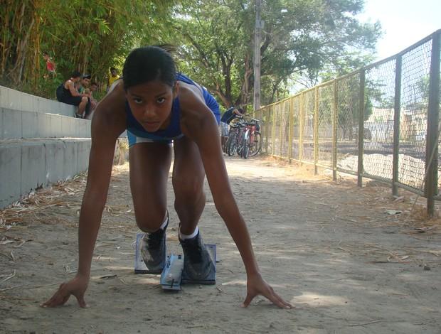 Olimpíadas Escolares 2012 - Atletismo - Ana Paula Rodrigues (Foto: Josiel Martins/GLOBOESPORTE.COM)
