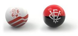 Confrontos guia da rodada bolas - Náutico x Vitória (Foto: Editoria de Arte)