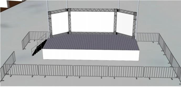 Imagem mostra como será o pódio do Circuito Mundial (Foto: Reprodução WSL)