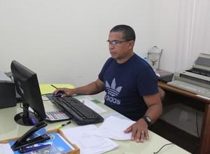 Almir Belarmino da FFER (Foto: Renato Pereira)