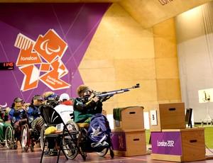 prova de tiro nas paralimpíadas Londres (Foto: Getty Images)