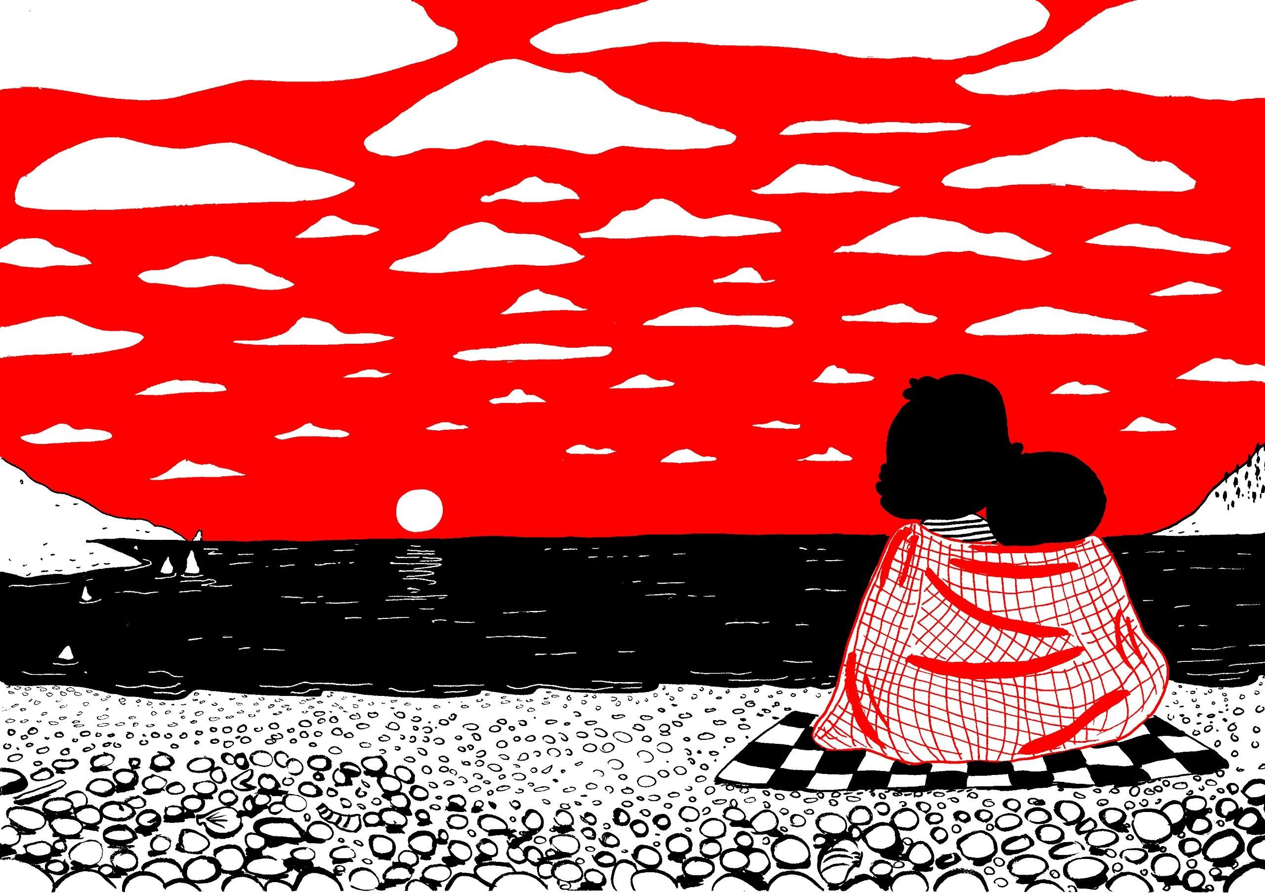 Um dos desenhos de Soppy — Os pequenos detalhes do amor (Foto: Divulgação)