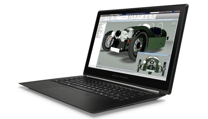 Com 19mm, Omen Pro é o laptop workstation mais fino do mundo (Foto: Reprodução/HP)