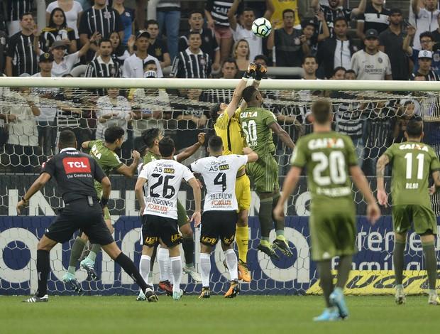 Corinthians x Coritiba Cássio