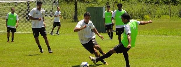 Último treino do Cuiabá definiu elenco para confronto contra a Portuguesa pela Copa do Brasil (Foto: Assessoria/Divulgação)