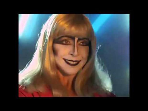 Betty Faria viveu Lili Carabina nos cinemas em Lili, a Estrela do Crime (1989) (Foto: Reprodução)
