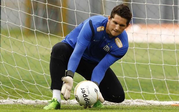Rafael, goleiro do Santos (Foto: Divulgação/Santos FC)